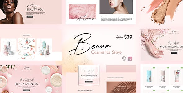 Download Beaux - Beauty Cosmetics Shop