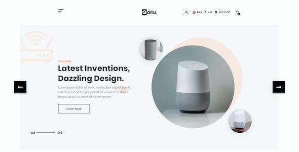 GORU - eCommerce PSD Template.