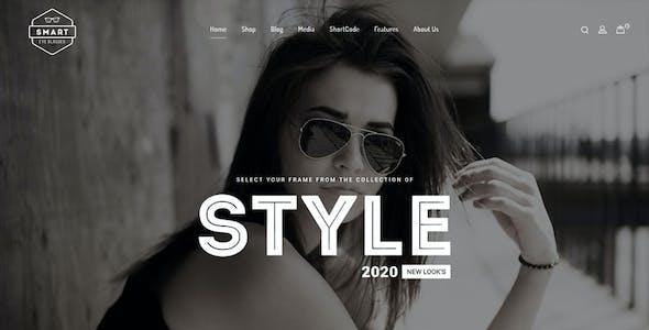 Smart Eye Glasses WooCommerce Theme