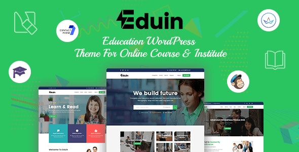 Eduin - Online Course WordPress Theme - Education WordPress