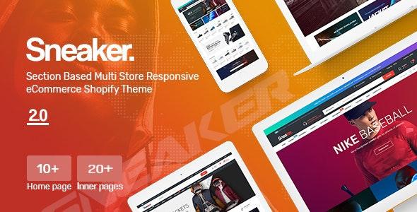 Sneaker - Multipurpose, Fashion, Shoes Store Shopify Theme - Fashion Shopify