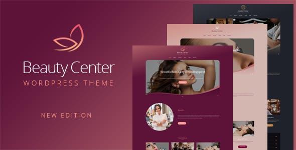 Beauty Center - Responsive WordPress Theme