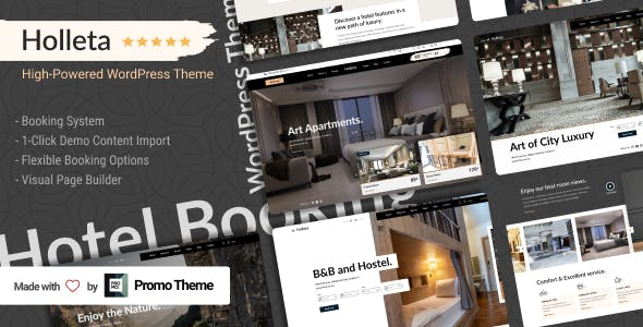 Holleta - Hotel Booking WordPress