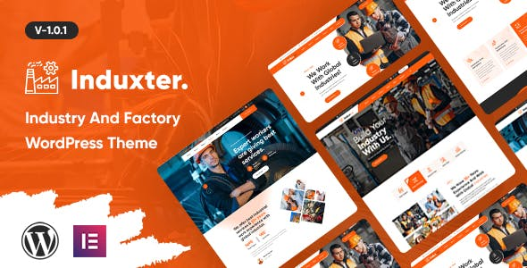 Download Induxter - Industry And Factory WordPress Theme