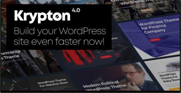 Krypton 4.0 - Modern Multipurpose WordPress Theme - Corporate WordPress