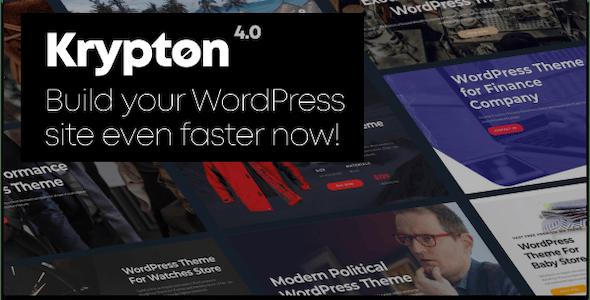 Krypton 4.0 - Modern Multipurpose WordPress Theme