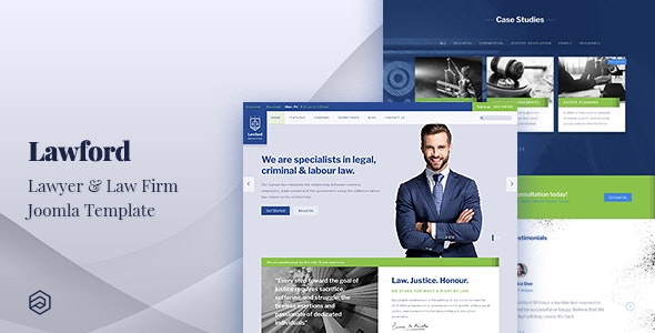 Lawford - Lawyer, Law Firm, Attorney Business Joomla Template - Business Corporate