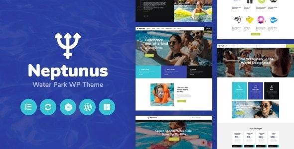 Neptunus - Water & Amusement Park WordPress Theme - Travel Retail