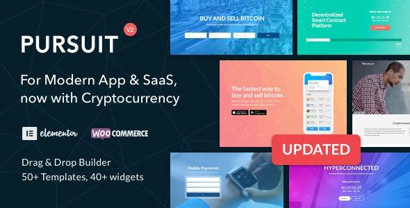 Pursuit - A Flexible App & Cloud Software Theme - Software Technology