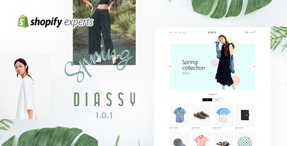 Diassy - Fashion Shopify Theme - Shopify eCommerce