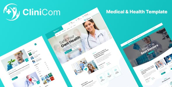 Download Clinicom - Medical & Health Template