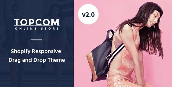 Topcom – Responsive Shopify Theme