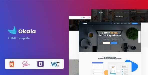 Download Okala | HTML Template