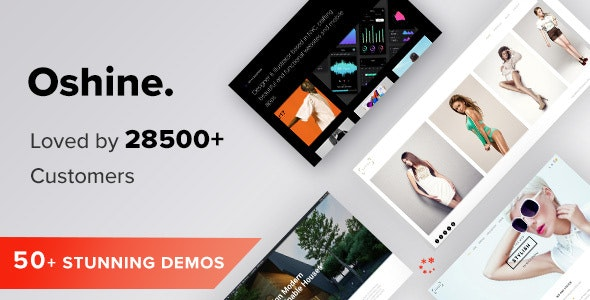 Oshine - Multipurpose Creative WordPress Theme - Portfolio Creative