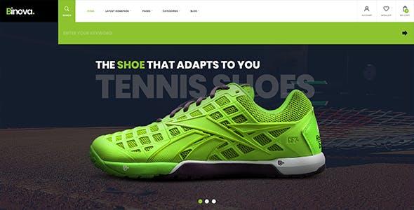 Binova   Shoes Store Shopify Theme