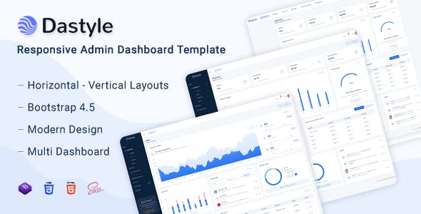 Download Dastyle - Admin & Dashboard Template