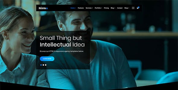 Nimmo - One page WordPress