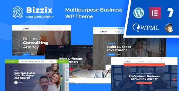 Bizzix - Multipurpose Business WordPress Theme - Business Corporate