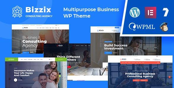 Download Bizzix - Multipurpose Business WordPress Theme