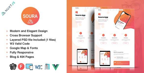 Download Soura - Vue App Template