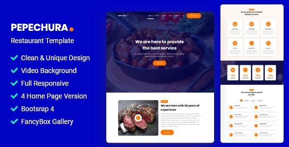 Download Pepechura - Restaurant Template