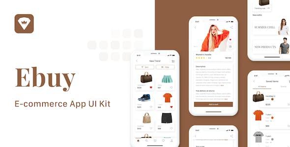 Ebuy - E-commerce Market App UI Kit