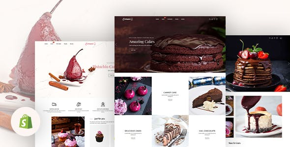 Carami - Cake & Bakery Responsive Shopify Theme