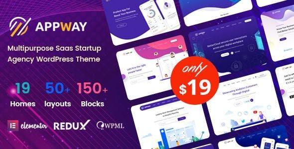 Download Appway - Saas & Startup WordPress Theme