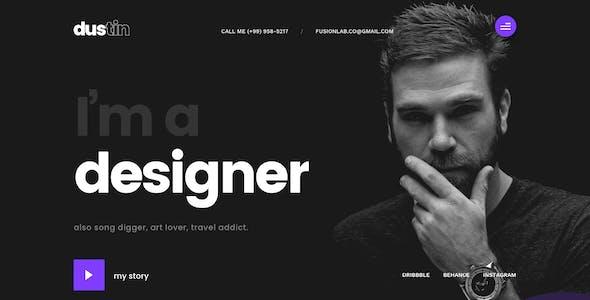 Dexfolio - Creative Portfolio & Agency Sketch Template