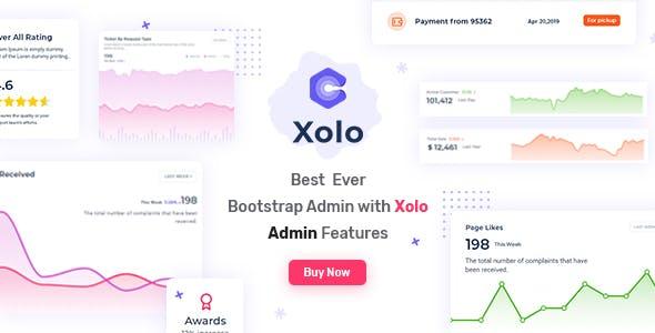 Xolo - Responsive Admin Dashboard Template