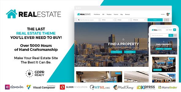 Real Estate 7 WordPress - Real Estate WordPress