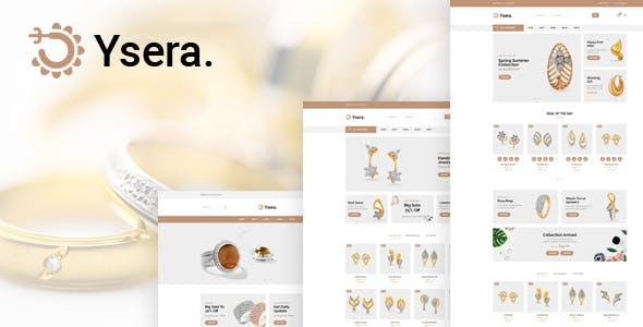 Ysera - Jewelry Shop HTML Template