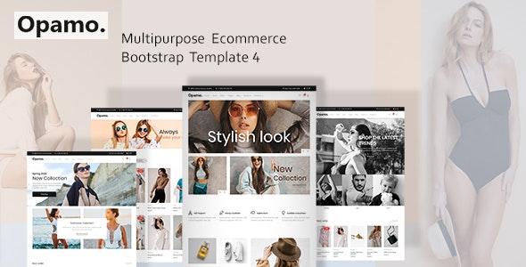 Opamo - Modern Fashion Shop HTML Template - Fashion Retail