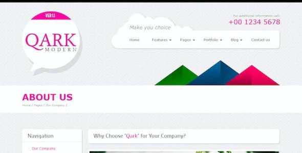 QARK Modern - HTML Template