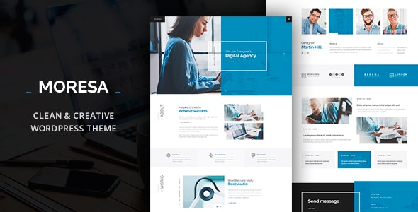 Moresa - Startup Agency Theme - Business Corporate