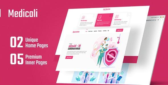 Medicali - Medical HTML Theme