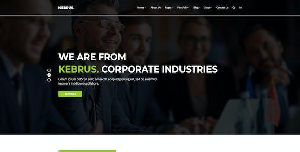Kebrus | Minimal Multipurpose PSD Template