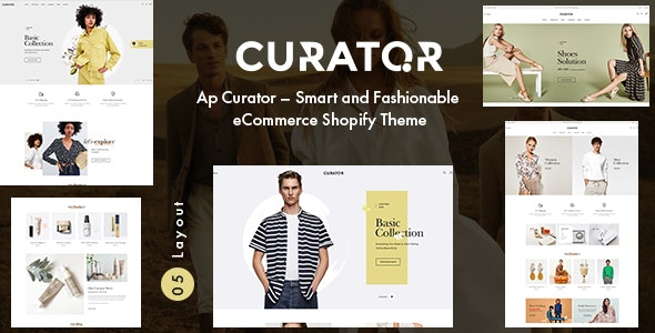 Ap Curator – Smart and Fashionable eCommerce Shopify Theme - Fashion Shopify