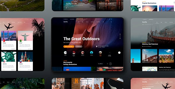 Lavella – Tour & Travel Agency Template
