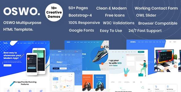 OSWO Multipurpose HTML Template - Business Corporate