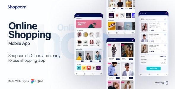 Shopcorn   Online Shopping Mobile Template - Shopping Retail