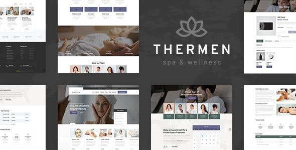 Thermen - Beauty Spa & Wellness Center WordPress Theme - Health & Beauty Retail