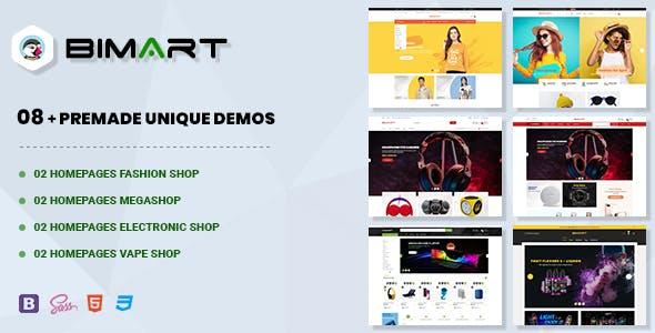 Bimart | Multi-Purpose Prestashop 1.7 Theme