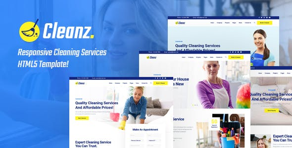 Cleanz   Cleaning Service HTML Template