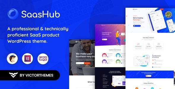 SaaSHub - Digital Product WordPress Theme - Software Technology
