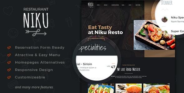 Niku - Restaurant & Food Menus WooCommerce Theme - WooCommerce eCommerce