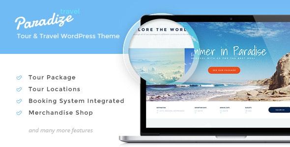 Paradize - WordPress Tour/Travel Theme - Travel Retail