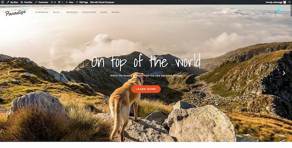 Paradize - WordPress Tour/Travel Theme