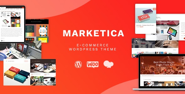 Marketica - eCommerce and Marketplace - WooCommerce WordPress Theme - WooCommerce eCommerce