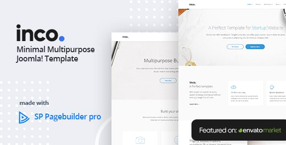 Inco - Multipurpose Joomla! Template